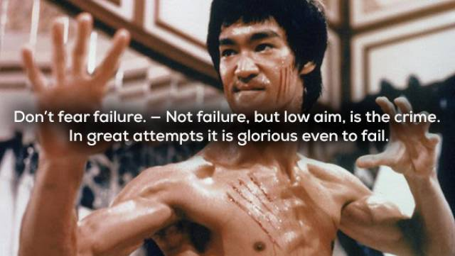 Bruce Lee - Not Only Strong, But Wise As Well