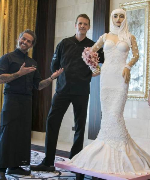 Nothing Special, Just A Wedding Cake For $1 Million