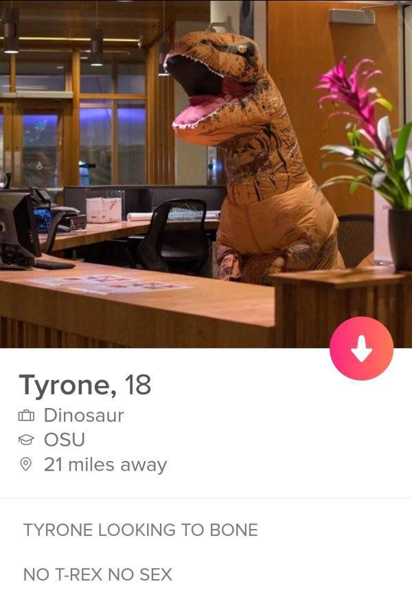 Tinder Is Where Nobody's Normal