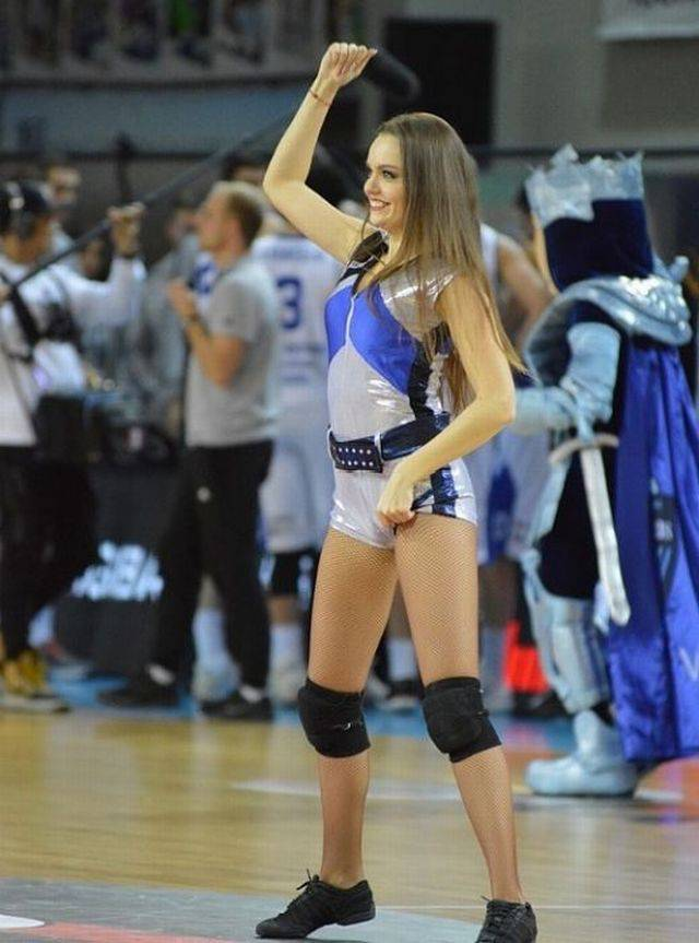 Cheerleaders From Lithuania Will Cheer You Up Anytime