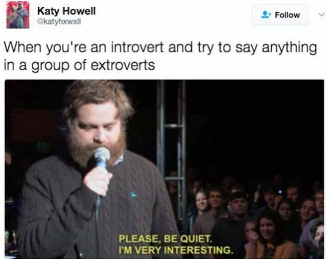 Introverts Will Never Go Out Into That Awful, Awful Society