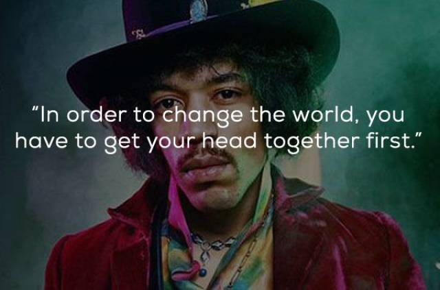 Jimmy Hendrix Had His Words To Say To All Of Us