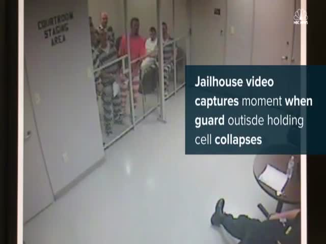Prisoners Escape Just To Save Their Guard Who Had A Heart Attack