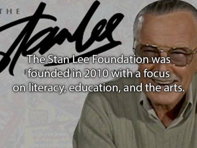 Facts About Stan Lee Are MARVELtastic!
