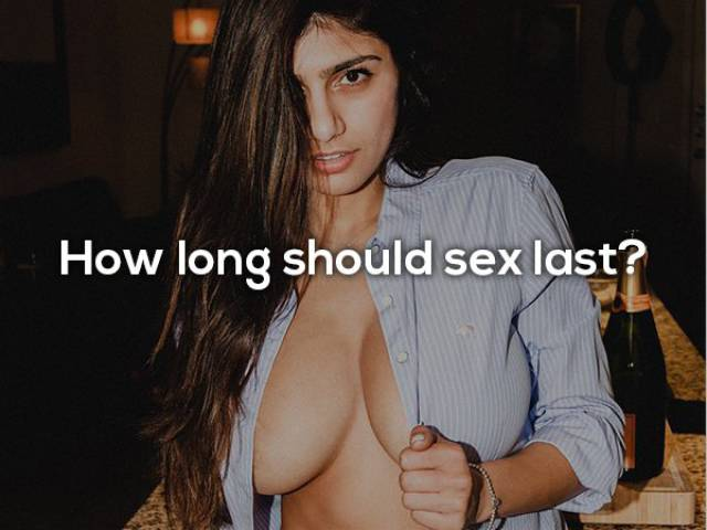 Nobody Knows More About Sex Than Mia Khalifa