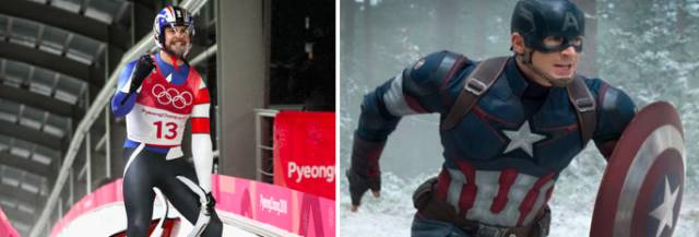 You Might Have Already Seen These Winter Olympics Elsewhere…