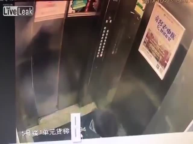Karma Punishes This Chinese Urinating Boy