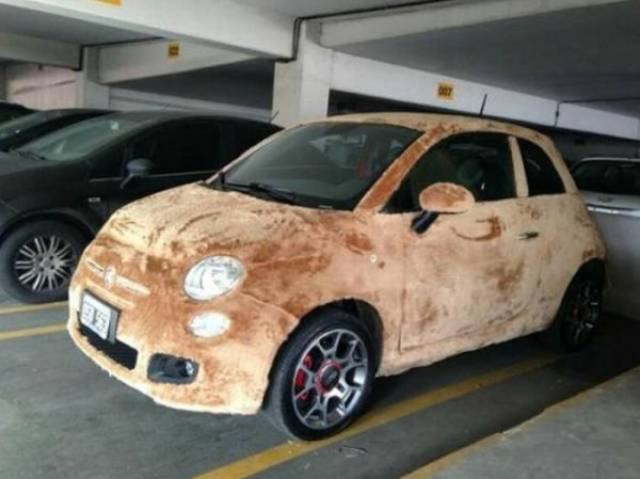 Cars Can Come In All Shapes And Colors…