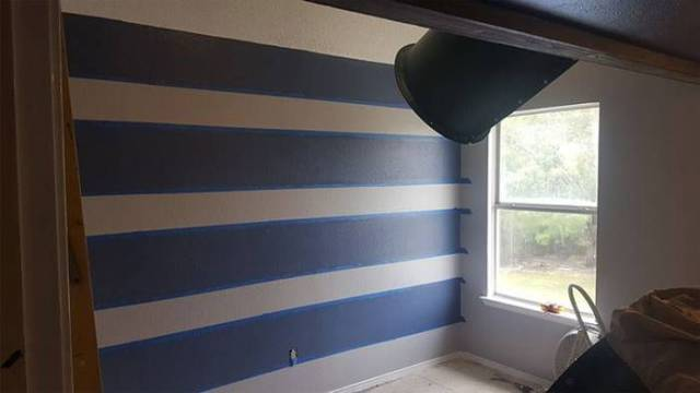 Dad Decided To Renovate His Son's Room With A Little Twist