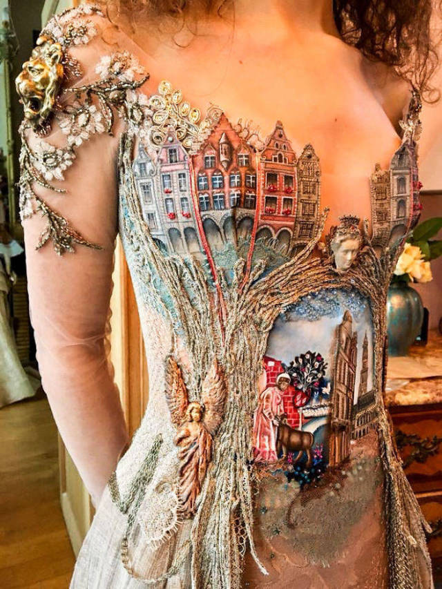 This French Designer Creates Dresses Which Could Be Best At Any Fashion Show!