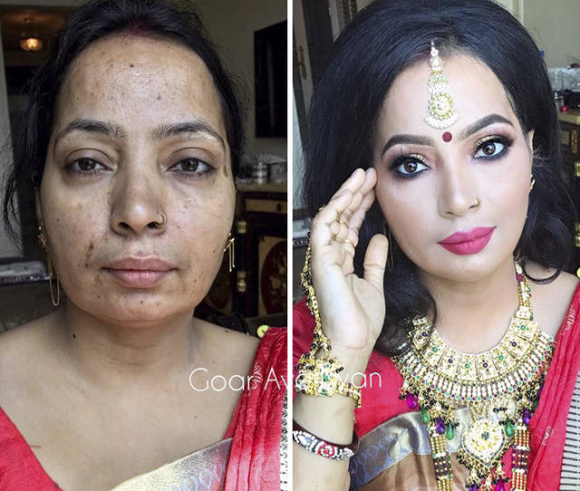Goar Avetisyan Is A Make Up Fairy For Women With Severe Skin Conditions