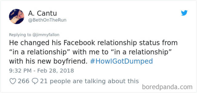 The Ways In Which People Get Dumped Sometimes Are Savage, To Say The Least