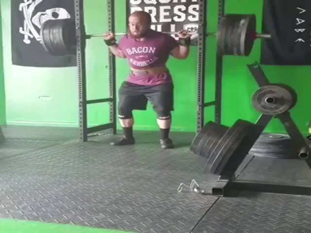 Barbells Are Not For Him