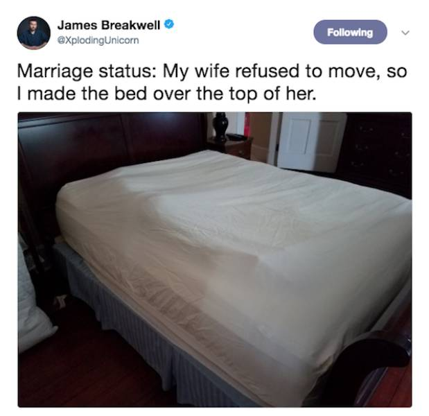 Married Life Is All About Survival