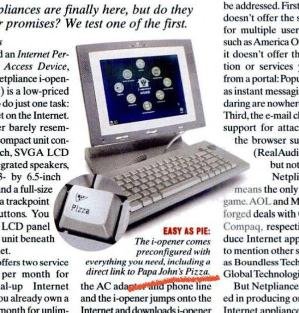 People Had Right Priorities Back In 2001…