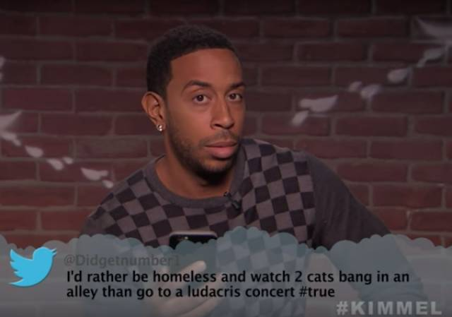 Musicians Take A Ton Of Sh#t Being Thrown At Them