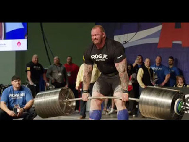 """The Mountain"" From ""Game Of Thrones"" Is The New World Record Holder In Deadlifting!"