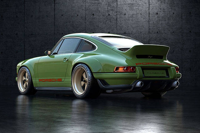 Porsche Gives A Rework To Its 1990 Porsche 964 And It's Glorious!