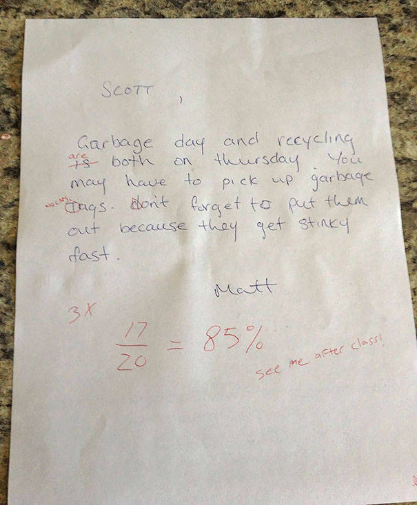 Roommates Are Best At Passive Aggression