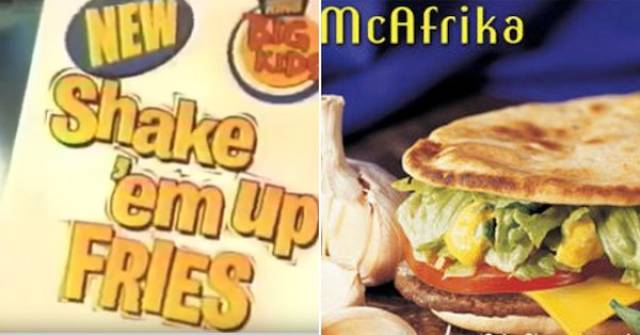 Some Fast Food Ideas Were Very Far From Successful…