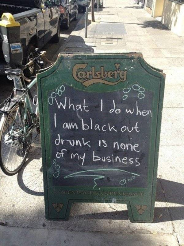 I Was Going To Have Just One Drink… And Then... I Don't Remember Sh#t