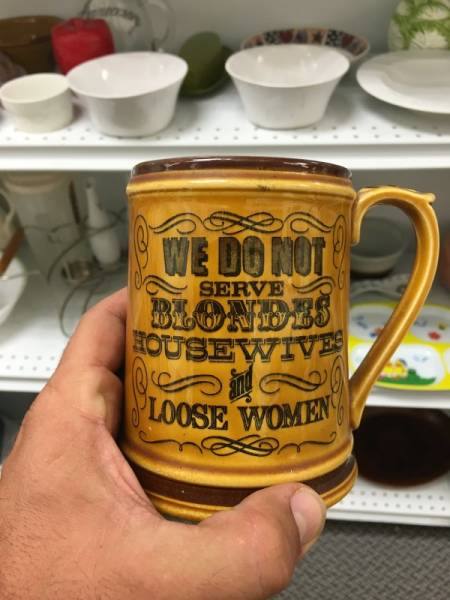 Thrift Shops Are Endless Sources Of Bizarre Things
