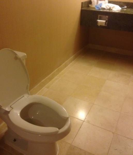 Hotels Which Had One Job But Failed…