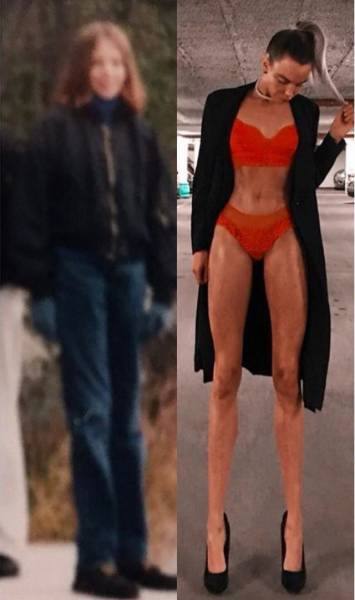 This Swedish Model's Incredibly Long Legs Drive Men Crazy
