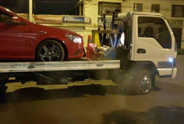 Tow Truck Isn't Always The Strongest