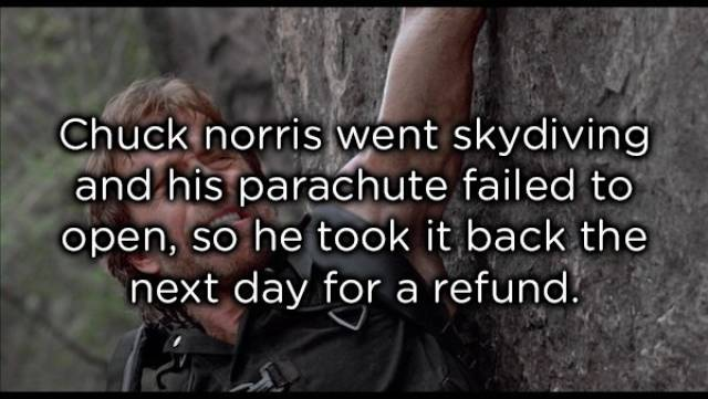 Chuck Norris Facts That Are Possible Only For Him