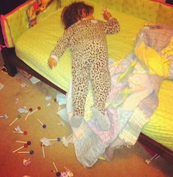 Kids Always Destroy Everything Around