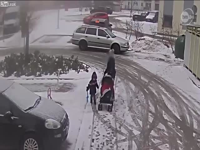 Lady Was Just Trying To Leave Her Parking Spot…