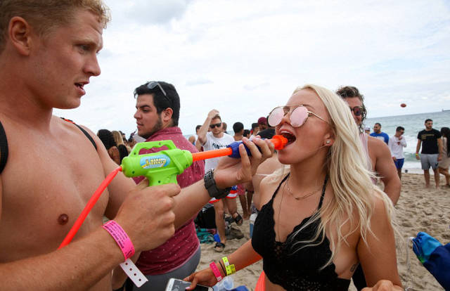 Fort Lauderdale Is Full Of Spring Break Revelers, Alcohol, Drugs And Debauchery