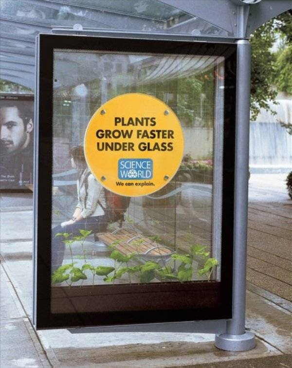 Just Ads From Science World Are Enough To Learn Something New