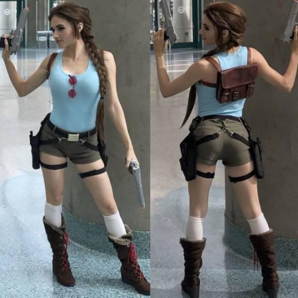 Lara Croft Cosplays Are Especially Sexy