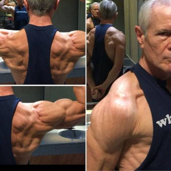 This Granddad Has No Excuses To Not Be Working Out!