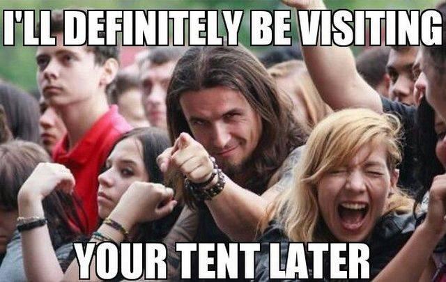 Crowd At Music Festivals Has No Boundaries