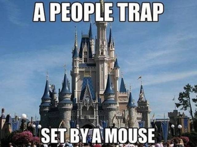 Disneyland Isn't Exactly A Place Of Wonders…