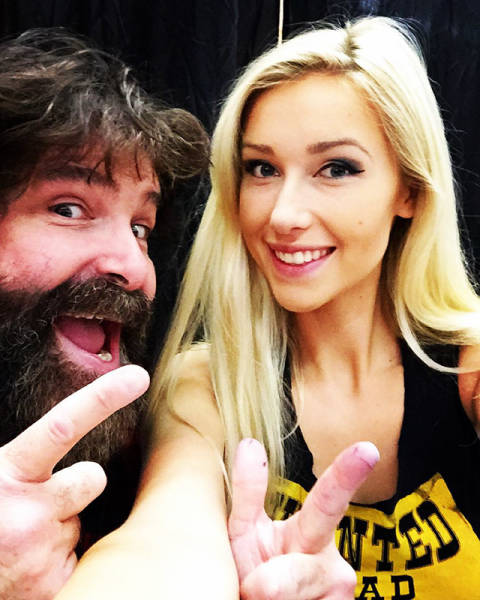 Mick Foley's Daughter Could Kill You With Her Smile