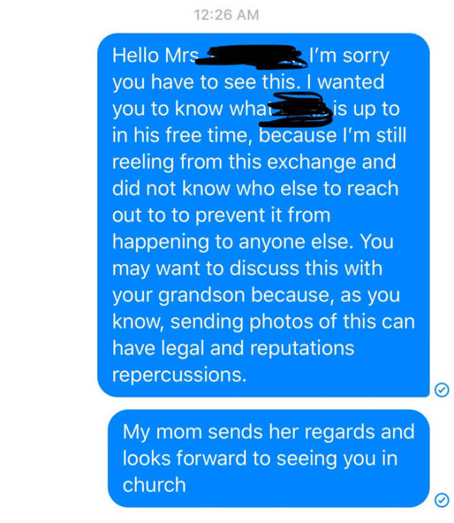 That's What Happens When You Send D*ck Pics To Someone Who Knows Your Family…