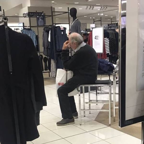 Only The Strongest Men Survive After Shopping With Their Wives