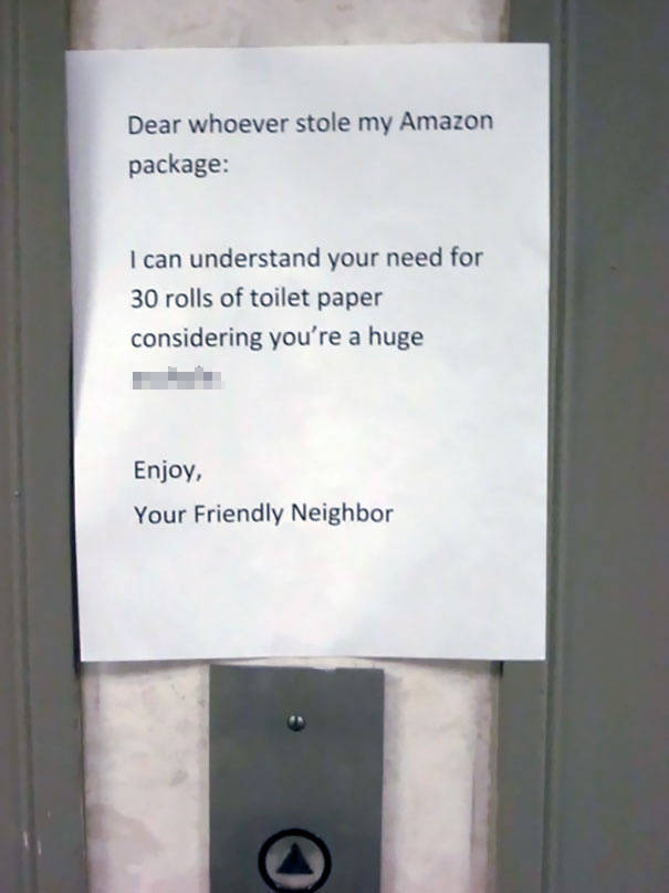 When The Most Dangerous Weapon Your Neighbors Have Is Passive Aggression