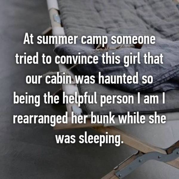 Camp Trips Always Had Something You Had To Confess About Later