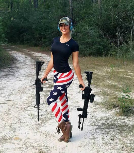 Hot Weapon Wielding Ladies