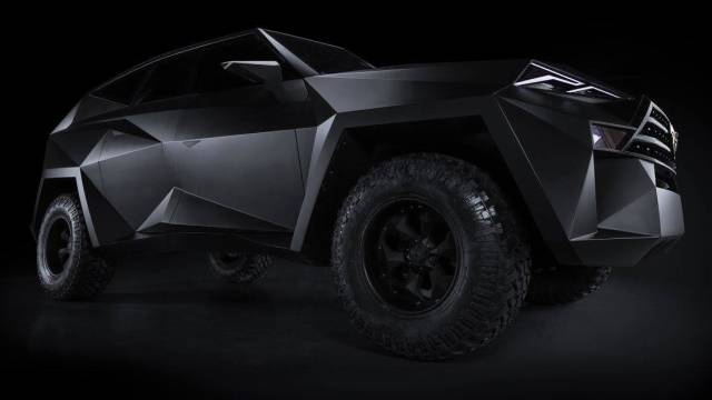 Meet The World's Most Expensive SUV – Karlmann King Armored Ground Stealth Fighter