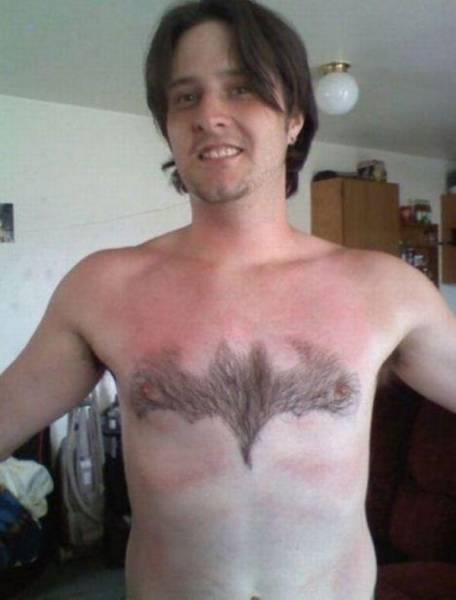 Body Hair Art Is Really A Thing!