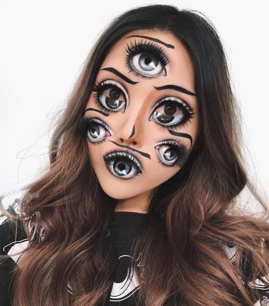 Mimi Choi's Illusory Make Ups Will Mess With Your Eyes