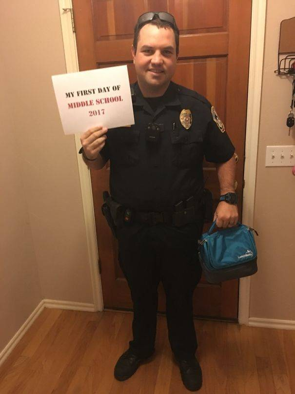 Police Isn't Forbidden To Have Fun!