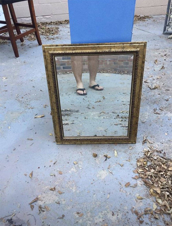 Trying To Sell A Mirror Is Always A Challenge…
