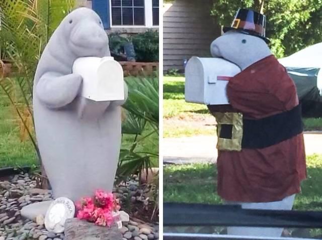 Even A Mailbox Can Be Very Original!